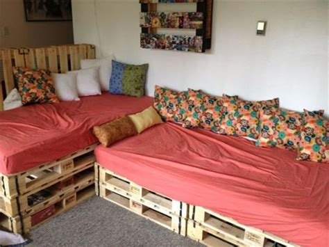 pallet sofa bed simple diy pallet sofa bed furniture pallets designs