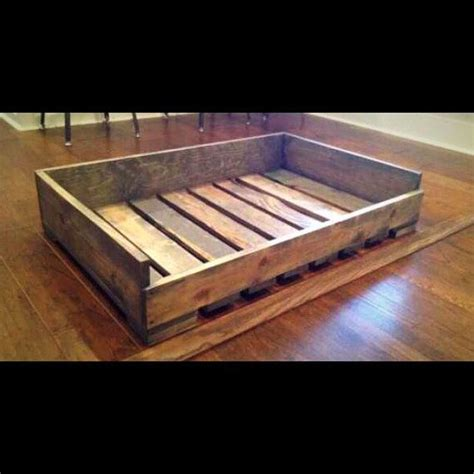 wooden dog beds 25 best ideas about dog bed pallets on pinterest dog