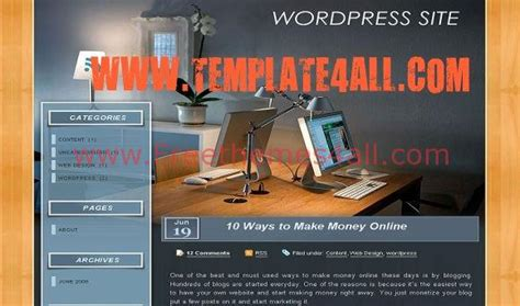 wordpress themes free office desk business wood wordpress theme download