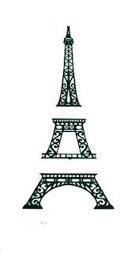 1000 Images About Sugar Silhouettes On Pinterest Digital Sts Flower Silhouette And Digi Eiffel Tower Cake Template