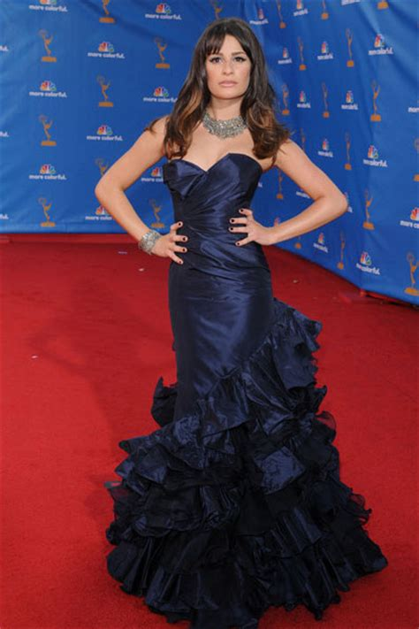 Lea Navy Dress Lxr lea michele mermaid navy carpet evening dress formal gown 62nd emmy awards dresses