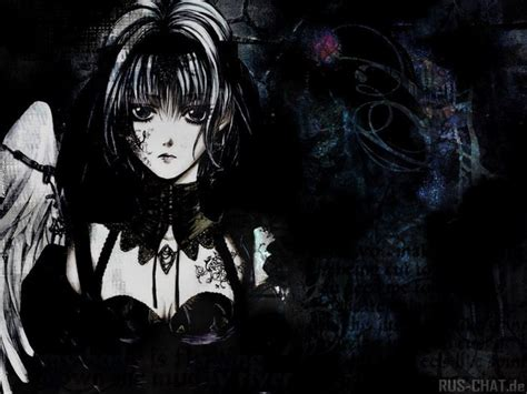 imagenes goticas en anime dark anime angel facebook timeline cover backgrounds