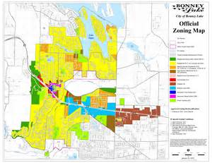 Miami Dade Zoning Map by City Of Bonney Lake Business Section Maps