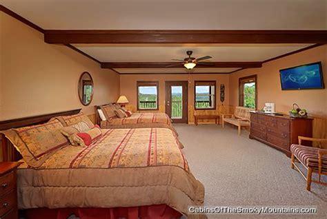 6 bedroom cabins in gatlinburg gatlinburg cabin smokies tower 6 bedroom sleeps 19 swimming pool access home theater