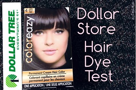 dollar store color eazy hair dye review