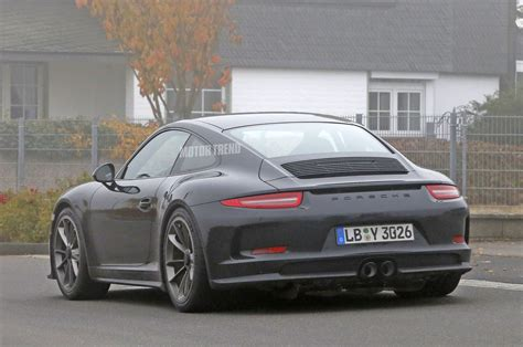 porsche 911 r porsche 911 r spied wingless and without camo