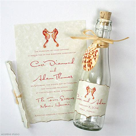 21 bottle wedding invitation ideas unique wedding invitations creative custom