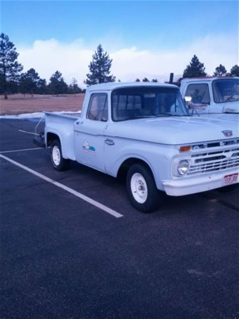 1966 ford f100 stepside buy used 1966 ford f100 stepside in estes park