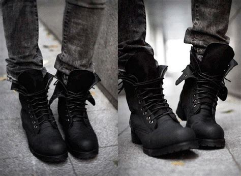 how to wear mens combat boots a guys lesson in shoes thebenclark