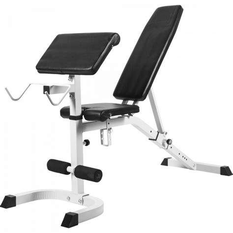 Banc Musculation Incline Decline by Banc De Musculation R 233 Glable Inclin 233 D 233 Clin 233 Avec Pupitre