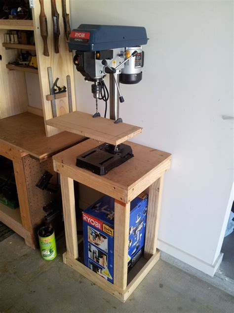 bench top drill press stand woodworking plans drill press stand plans pdf plans