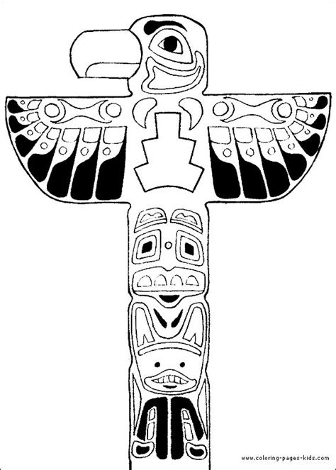 northwest indian coloring pages 17 best ideas about native american totem poles on
