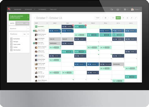 Schedule App 7 Simple Employee Scheduling Software Tools