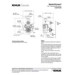 Grohe Faucets Kitchen kohler k 2976 ks na mastershower no finish valves rough