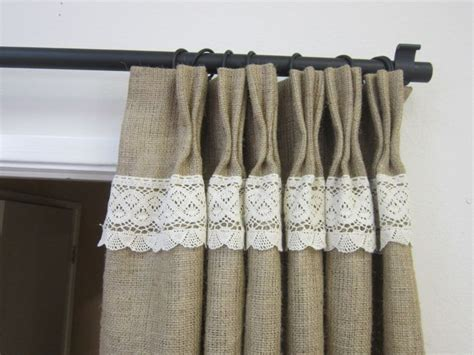 burlap curtains pinterest burlap curtains burlap and curtains on pinterest
