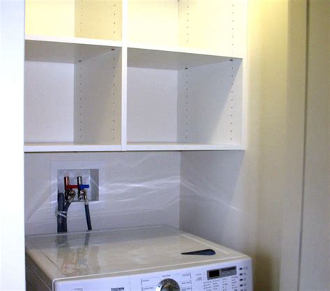 laundry room storage units storage unit above washer and dryer contemporary