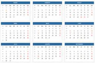 Calendario 2018 Colombia Feriados Calendario Escolar 2018 De Colombia Calendario 2018