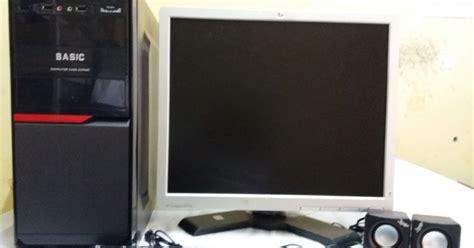Monitor Bekas Surabaya komputer murah baru bekas zaindo computer daftar harga peketan computer cpu