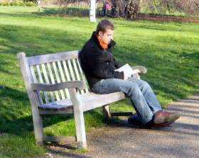 sitting on bench the single best advice for the job search and 9 steps to