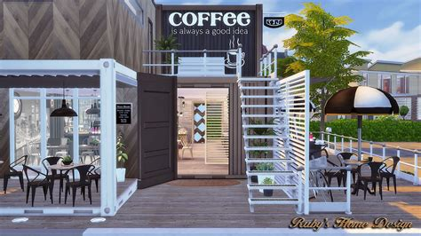 4 home design store sims4 container coffee shop no download link ruby s