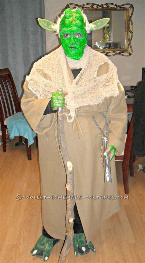 Handmade Wars Costumes - cheap diy yoda costume costumes and war