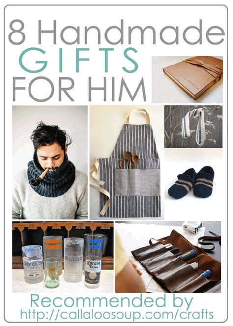 Handmade Gift Ideas For Him - 8 diy gifts for him as recommended by callaloo soup