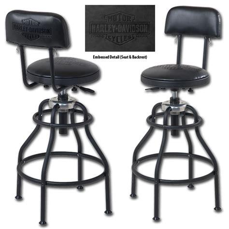Harley Davidson Bar Stools Sale by Hdl 12206 Harley Davidson 174 B S Adjustable Backrest
