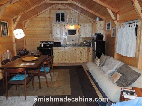pics inside 14x32 house amish made cabins deluxe appalachian portable cabin