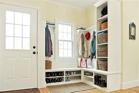 Mudroom Design | innovative mudroom design