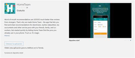 hometeam la app social de microsoft garage primero en