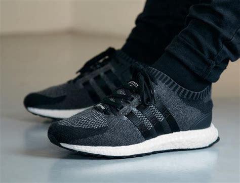 Adidas Original Eqt 93 Support Rf Primeknit Bnib adidas eqt support ultra primeknit black wool sneaker