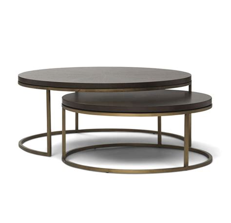 raz 25 quot gold circle nesting tables home decor home best 25 gold coffee tables ideas on pinterest