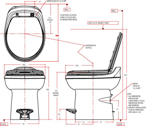 standard seat height standard toilet dimensions crowdbuild for