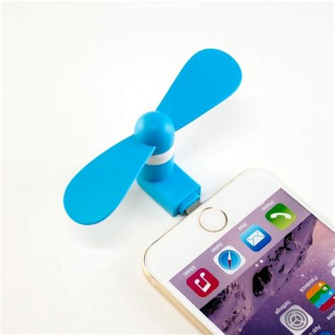 how to use a phone fan iphone won t charge after using a mini fan blog