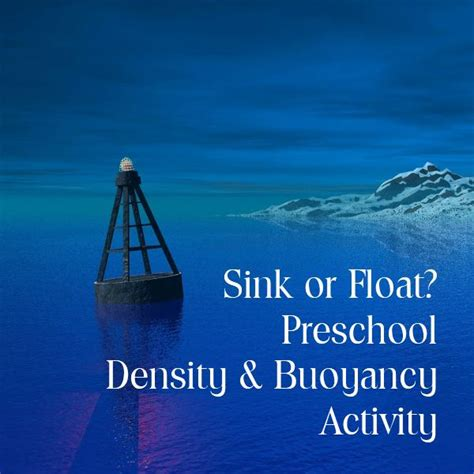 boat fly definition preschool science sink or float activity to learn about