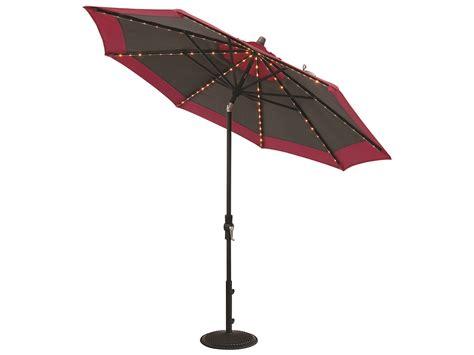Treasure Garden Patio Umbrella Treasure Garden Market Aluminum 9 Foot Collar Tilt Crank Lift Starlight Umbrella Exum800sl