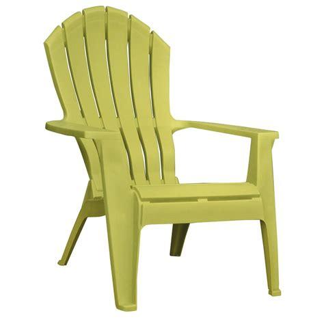adams mfg corp green resin stackable patio adirondack chair  lowescom