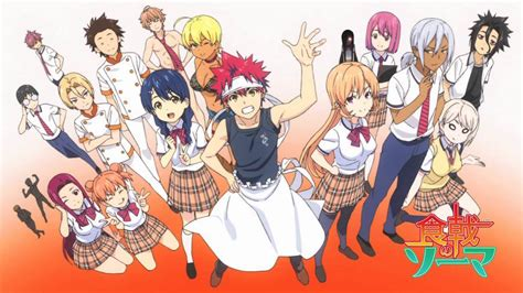 anime about cooking review shokugeki no soma food wars vol 8 three if by
