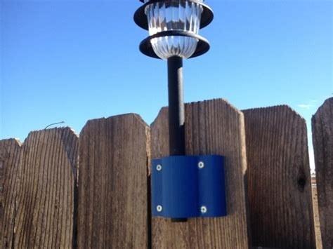 How To Add Solar Lights To A Fence Home Design Garden Solar Lights For Fences