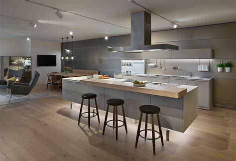 Island Kitchen Stools Flint Amp Gravel Bulthaup B3 Kitchen Hobsons Choice
