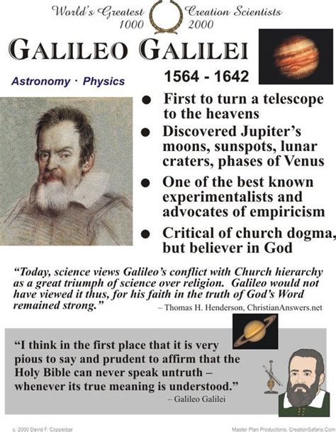 galileo biography facts 14 best history science galileo images on pinterest