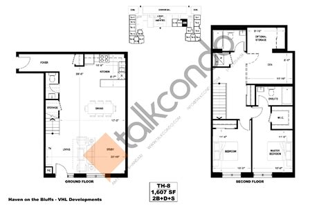 Condo Floor Plans Toronto by Haven On The Bluffs Condos Talkcondo