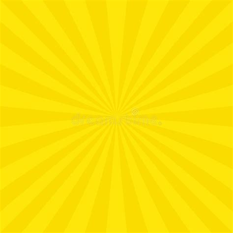 web design yellow background abstract sun burst background from radial stripes stock
