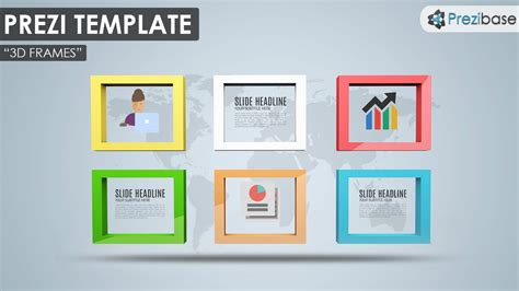 how to make a prezi template 3d frames prezi template prezibase