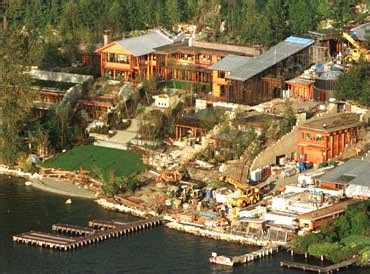 bill gates house seattle glimpses of bill gates s palatial home rediff com business