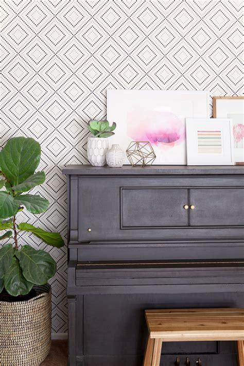 removable wall how to transform a room using removable wallpaper tell love and party