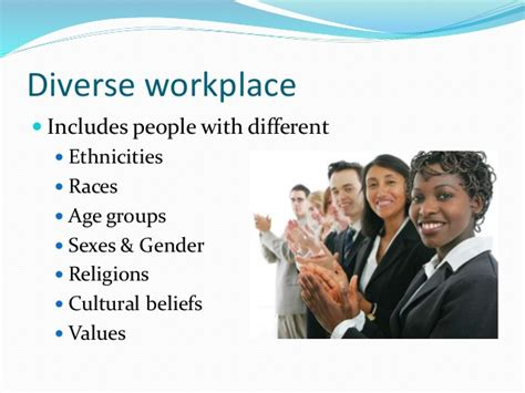 Benefits Of Mba In Hospitality Management by Diversity In The Workplace Mba 423 Human Resource Management