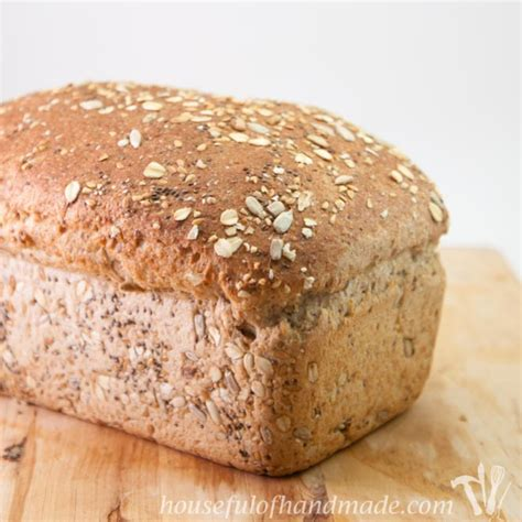 whole grains not wheat soft delicious whole grain seed bread a houseful of