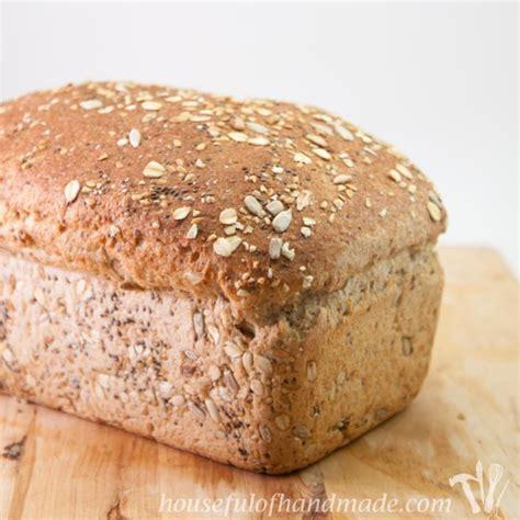 whole grain bread recipes soft delicious whole grain seed bread a houseful of