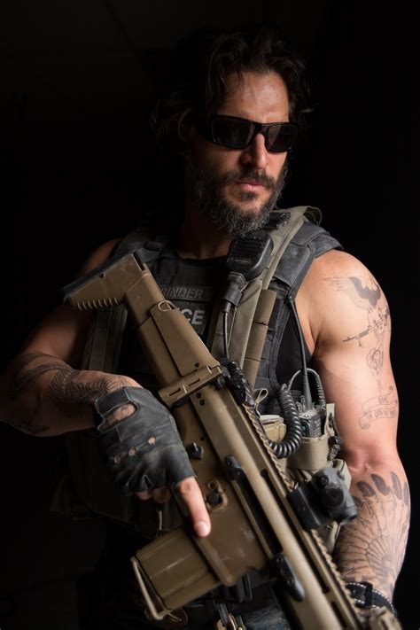 exclusive images from sabotage joe manganiello